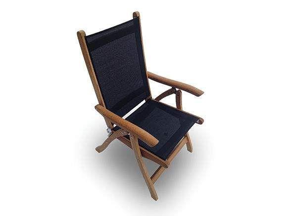 Royal Teak Collection FL Florida Teak Sling Chair