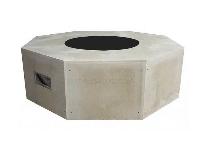 Hearth Products Controls Octagon 54 Inch Unfinished Fire Pit Enclosures