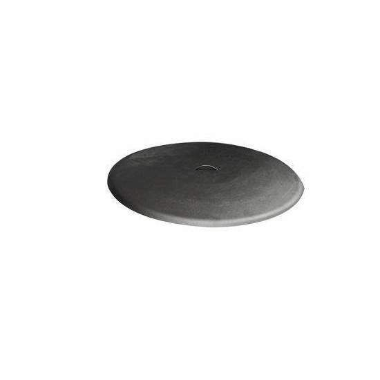 Hearth Products Controls Round Aluminum Fire Pit Cover, 48 Inch, Black
