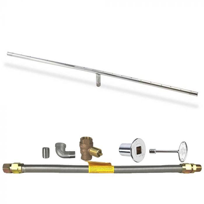 Spotix Linear HPC Match Lit Fire Pit T-Burner Kits