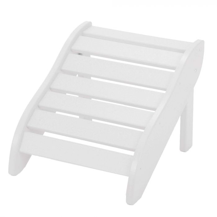 Pawleys Island FR1WH Foot Rest, White