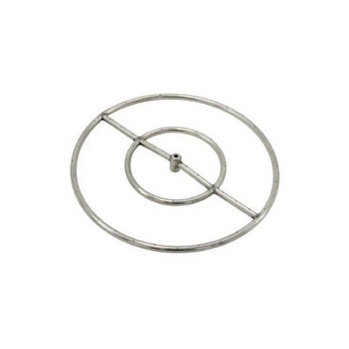 Rasmussen FRB-S Stainless Steel Fire Pit Burner Ring, Natural Gas