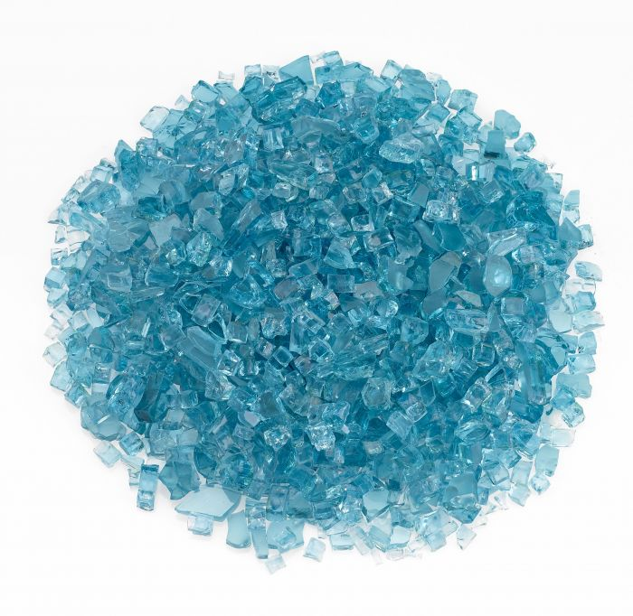 Rasmussen GLX-BG Blue/Green Fire Glass, 10-Pounds