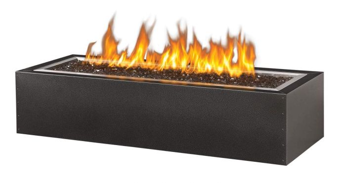 Napoleon GPFL48MHP Linear Gas Patioflame Fire Pit, Rectangular