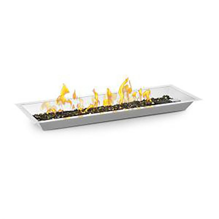 Napoleon Push Button Flame Sensing Gas Fire Pit Kit, Linear, 48x14 Inches