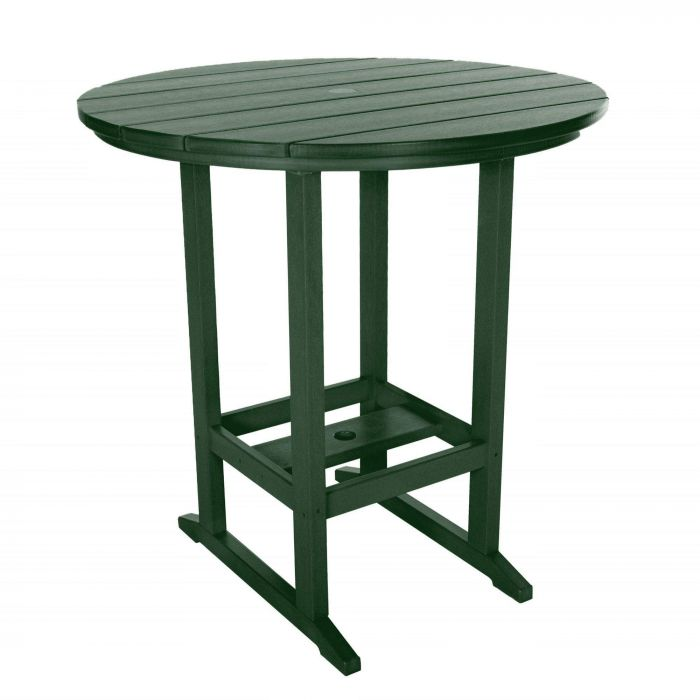 Pawleys Island HDT1PG Outdoor High Dining Table, 39inch, Pawleys Green