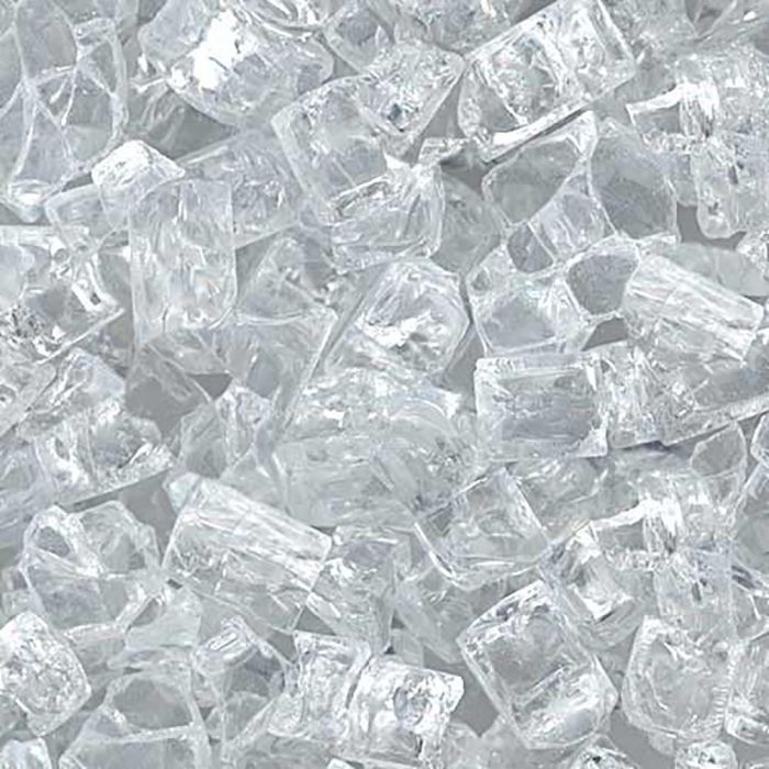 Hearth Products Controls 1/4 Inch Decorative Fire Glass, 10 Pounds, Starfire