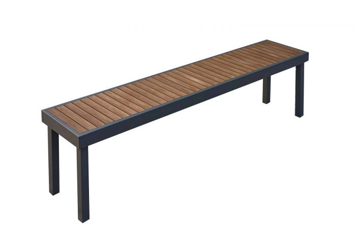 The Outdoor GreatRoom Company KW-LB KW-LB Kenwood Series Patio Bench, Long