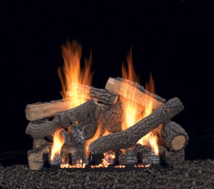 White Mountain Hearth LSxxP Refractory Ponderosa Gas Logs Only
