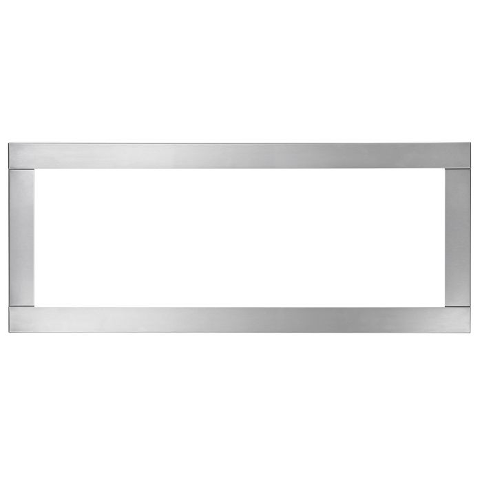 Napoleon Four-Sided Trim in Brushed Stainless Steel Finish, 1-Sided Model (Optional)