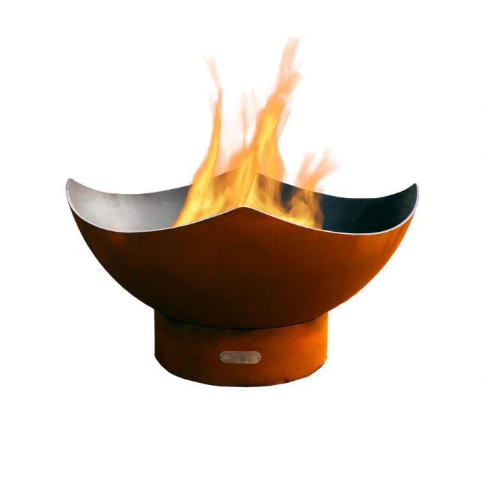 Fire Pit Art Manta Ray Gas Fire Pit
