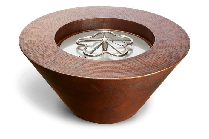 Hearth Product Controls Mesa Hammered Copper Bowl Fire Pit
