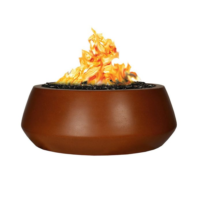 Fire by Design MGAPBELIZEFP48NG Belize Round 48-Inch Fire Pit Table