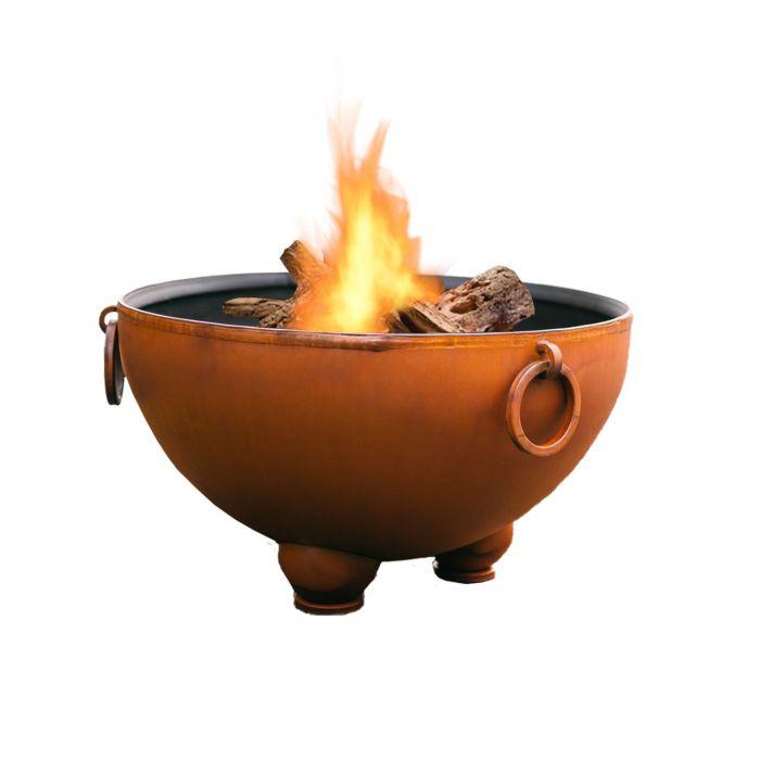 Fire Pit Art Nepal Wood Fire Pit