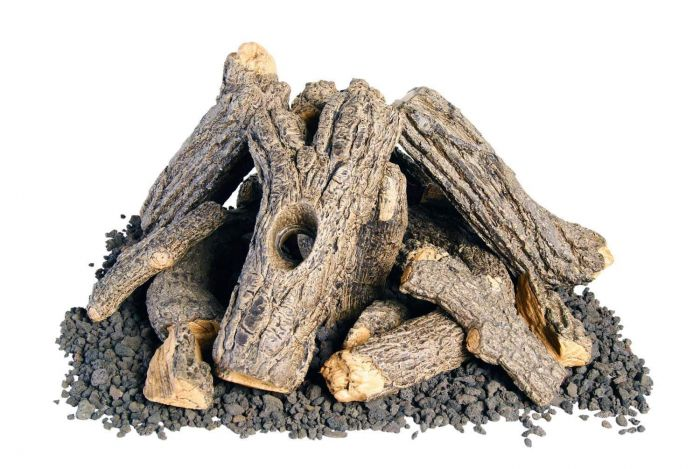 American Fyre Designs OCL-34 Campfyre Logs with Wood Chips