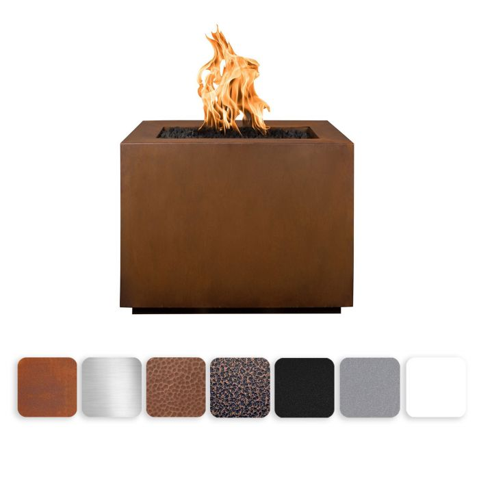 TOP Fires by The Outdoor Plus OPT-30SQxx Forma Fire Pit