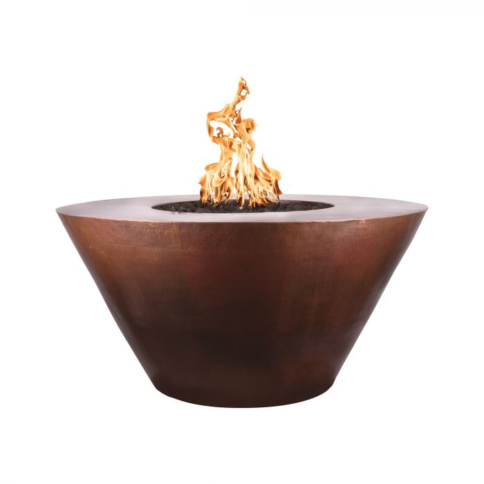TOP Fires by The Outdoor Plus OPT-48RMx Martillo Round Fire Pit