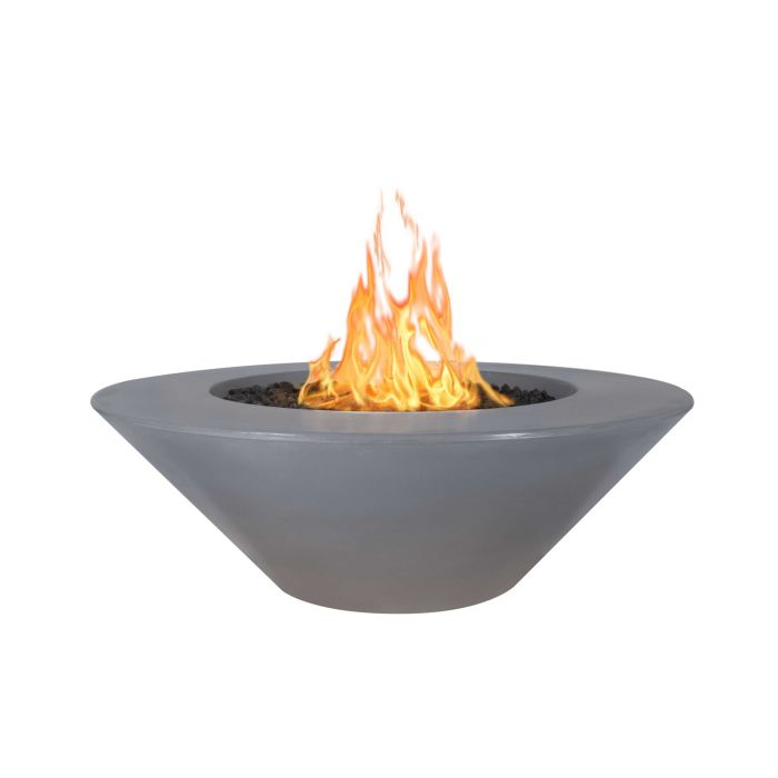 TOP Fires by The Outdoor Plus OPT-CZxx Cazo Concrete Fire Pit - Wide Ledge
