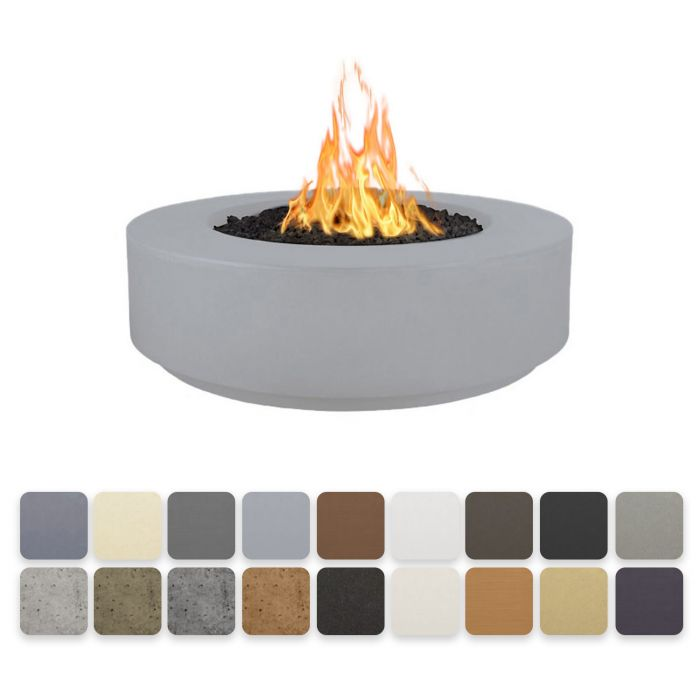 TOP Fires by The Outdoor Plus OPT-FLxx Florence Concrete Fire Pit