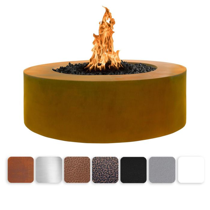 TOP Fires by The Outdoor Plus OPT-UNYxx60 24-Inch Tall Unity Fire Pit, 60-Inches