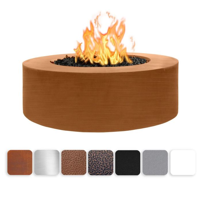 TOP Fires by The Outdoor Plus OPT-UNYxx48 24-Inch Tall Unity Fire Pit, 48-Inches
