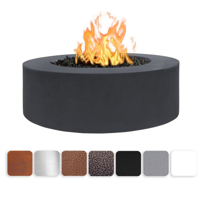 TOP Fires by The Outdoor Plus OPT-UNYxx7218 18-Inch Tall Unity Fire Pit, 72-Inches