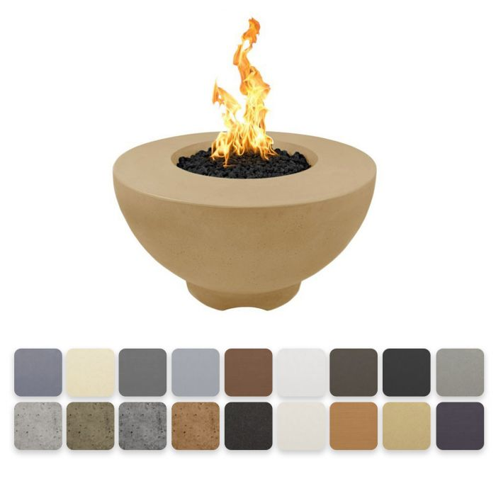 TOP Fires by The Outdoor Plus OPT-RF37x Sienna Concrete Fire Pit