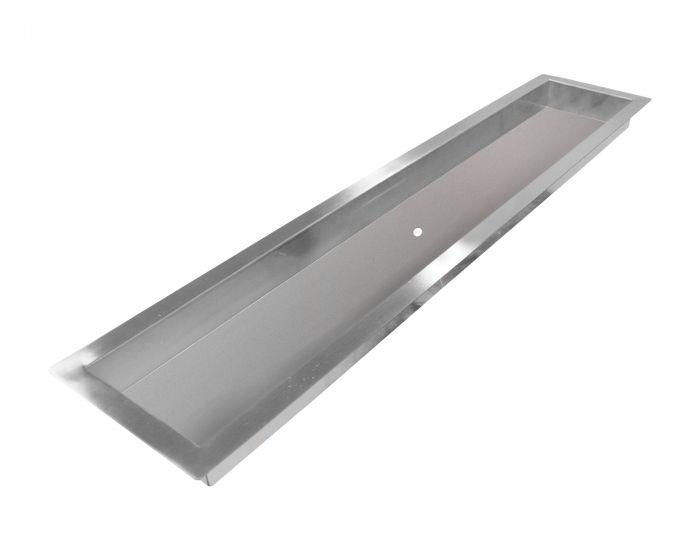 Firegear PAN-SSxxxxL Linear Stainless Steel H-Shaped Gas Fire Pit Burner Deep Pan