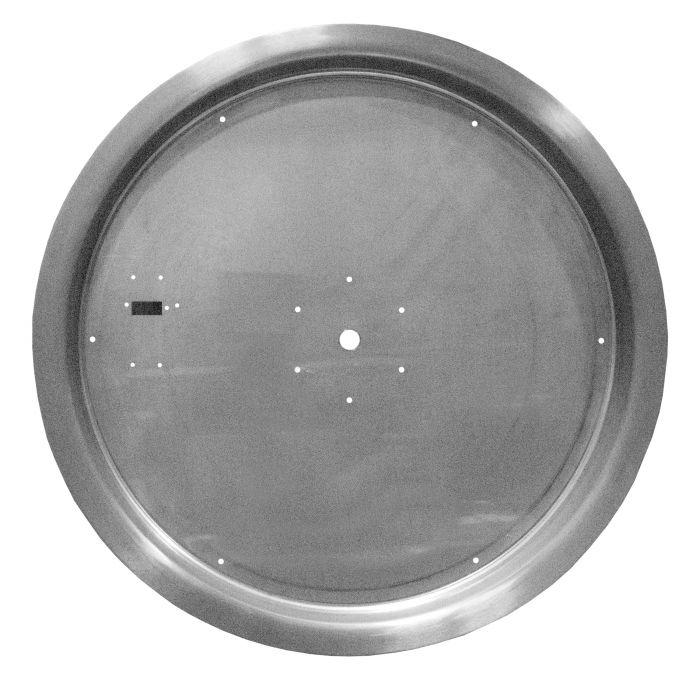 Firegear PAN-SSxxR Stainless Steel Gas Fire Pit Burner Pan, Round Bowl