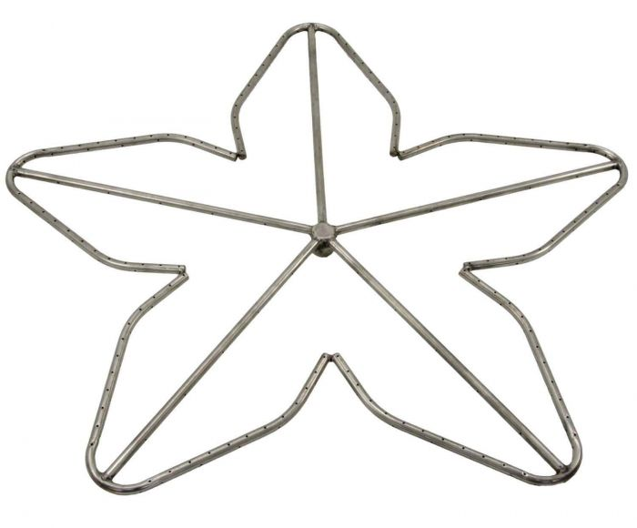Hearth Products Controls Penta Stainless Steel Fire Pit Burner, 36-Inch, Natural Gas