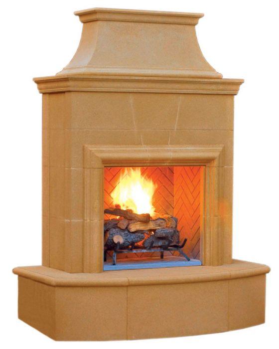 American Fyre Designs Petite Cordova Outdoor Gas Fireplace