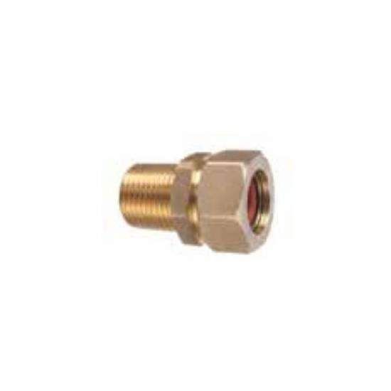 Hearth Products Controls Pro-Flex 1/2 Inch Male Fittings, Pack of 12