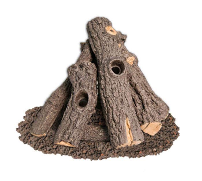 American Fyre Designs PRO-27 Prairie Oak Log Set
