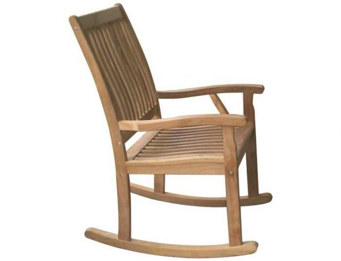 Royal Teak Collection RKC Classic Highback Rocking Chair
