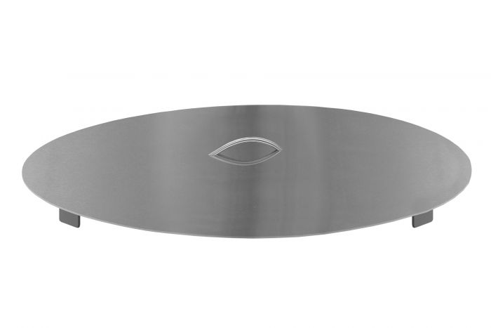 Firegear LID-29R Stainless Steel Burner Cover with Brushed Finish, Round, 29-inch