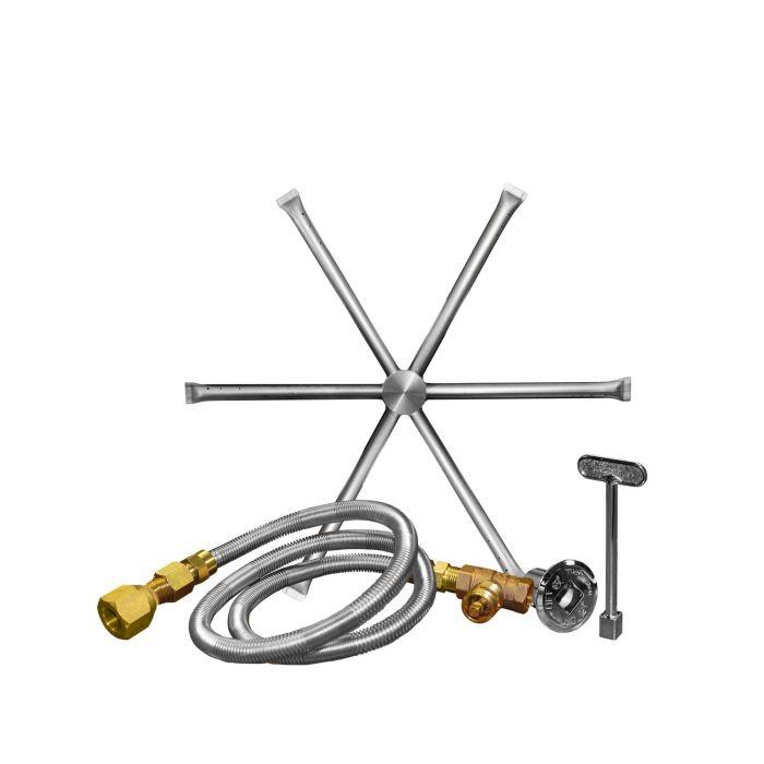 Firegear DBS-KIT Match Light Gas Fire Pit Burning Spur Kit