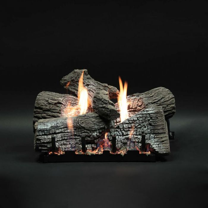 White Mountain Hearth LSxxWRR Refractory Stacked Wildwood Gas Logs Only
