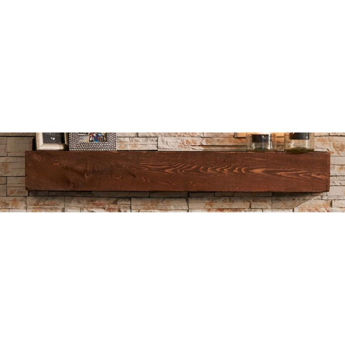 GreatCo Tavern Supercast Wood Mantel, 72-Inch