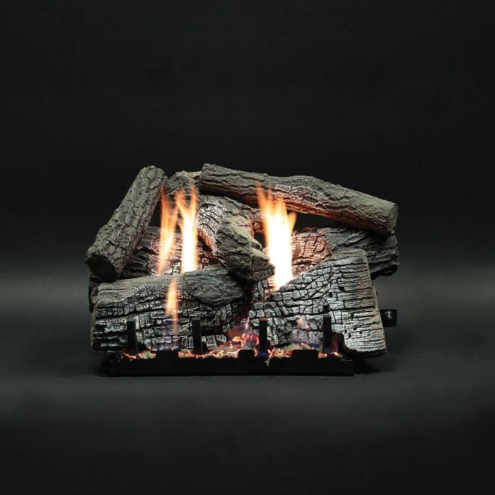 White Mountain Hearth LSxxWRS Refractory Super Stacked Wildwood Gas Logs Only
