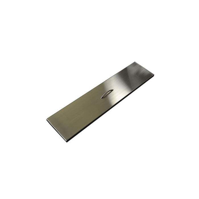 Hearth Products Controls Rectangular Stainless Steel Fire Pit Cover, 52x9.5 Inch
