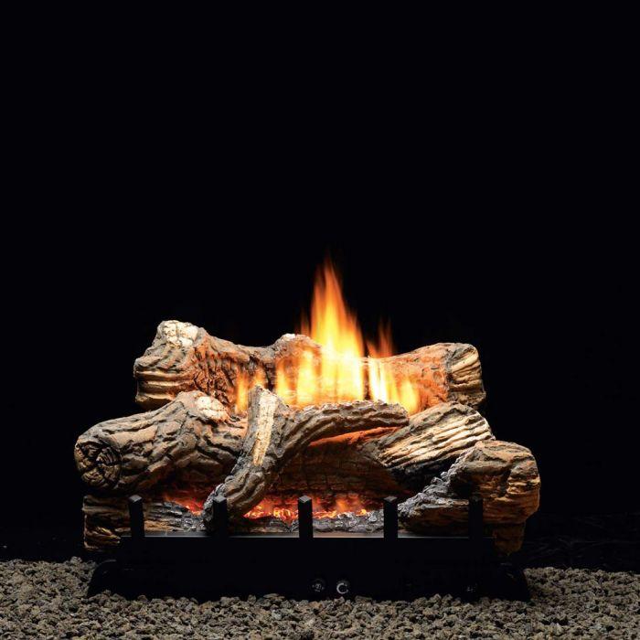 White Mountain Hearth VFSRxx Ventless Slope Glaze Burner with Millivolt Valve