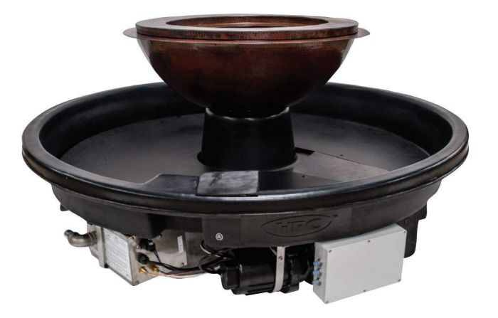 HPC Evolution 360 Series Fire Pit with 360 Degree Water Feature