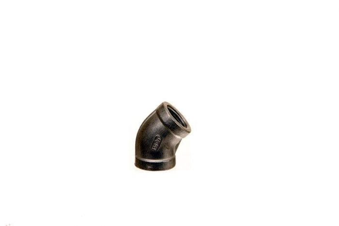 Stainless Steel Elbow, 45 degree, 1/2-inch
