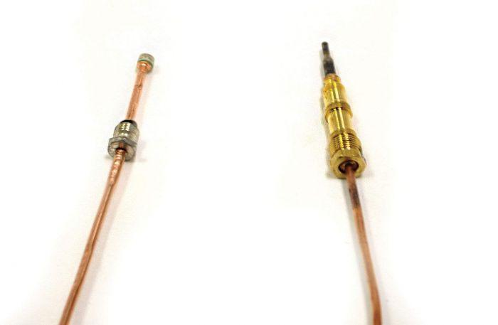Robertshaw Metric DV Quick-Drop Thermocouple, 18-Inch
