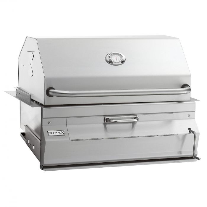 Fire Magic Legacy 24-Inch Built-In Charcoal Grill