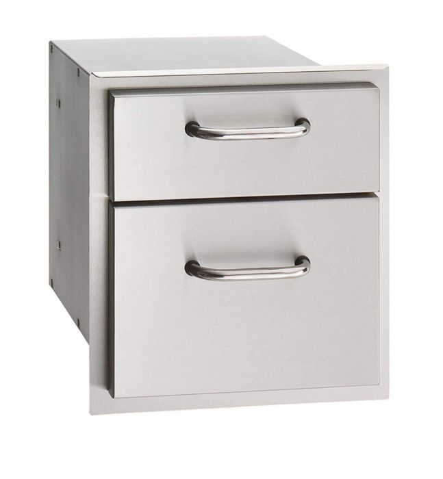 American Outdoor Grill Double Drawers