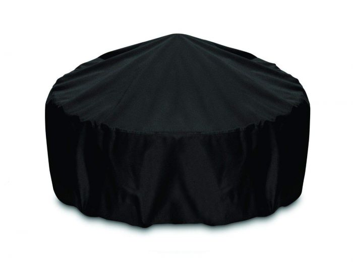 Two Dogs Designs Round 36 Inch Black Fire Pit Cover