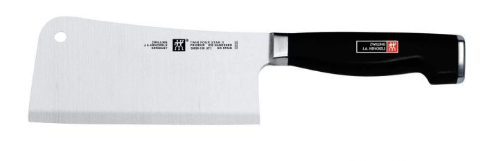 Zwilling J.A. Henckels Twin Four Star II 6-Inch Meat Cleaver
