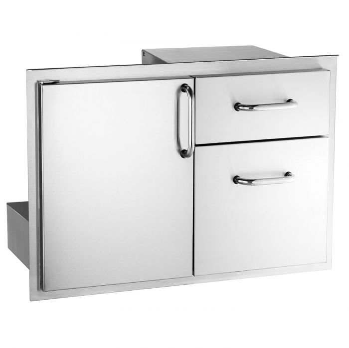 Fire Magic Select Access Door & Double Drawers