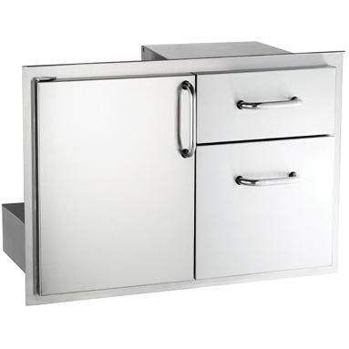 American Outdoor Grill Door with Double Drawers